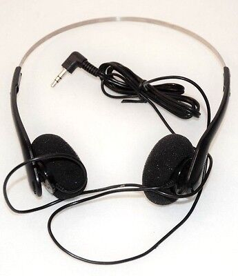 Panasonic Classic Headphones Aux For CD Tape Player Ipod Phone Or Stereo
