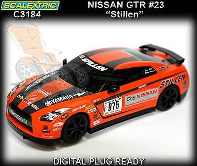 Scalextric C3184 Nissan GT-R R35 Stillen - 1:32 scale slot car