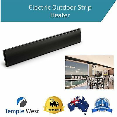 Electric Radiant Strip Heater Patio Outdoor 2400W Heavy Duty Ceiling Wall Mount