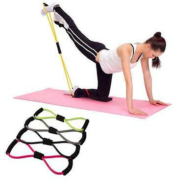 Hot Yoga Resistance Band Stretch Loop Fitness Gym Workout Exercice Sports Band