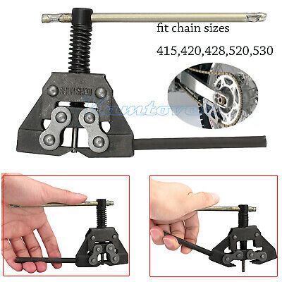 Motorcycle Bike Atv Chain Breaker Link Splitter Pin Remover Repair Tool 420-530