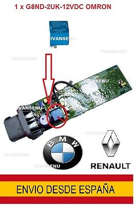 G8ND-2UK-12VDC OMRON - G8ND2UK12VDC Relé nuevo para modulo de freno RENAULT, BMW