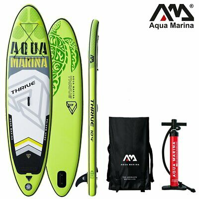 AQUA MARINA THRIVE SUP inflatable Stand Up Paddle Board 150mm Dick