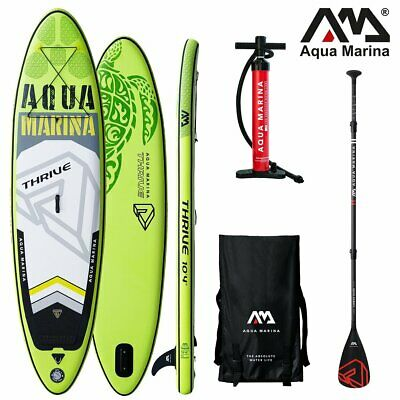 AQUA MARINA THRIVE SUP inflatable Stand Up Paddle Board 150mm Dick Carbon Guide