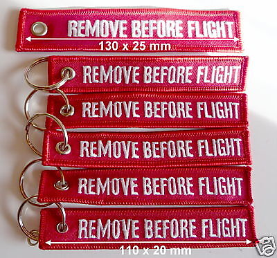 5er Paket Mini Variante REMOVE BEFORE FLIGHT