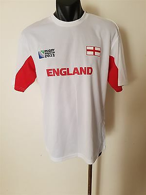 England Rugby Union World Cup 2011 Jersey T-Shirt Size S/m Bnwt