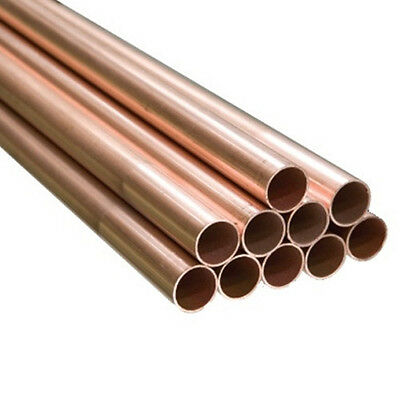10MM Copper Tube (10MM OD) - Lengths of 100MM to 1175MM