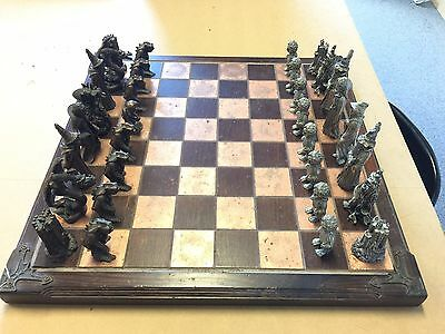 """Limited Edition War of the Rings """"Graeme Anthony"""" Chess Set"""