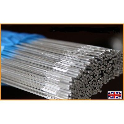 40x STAINLESS STEEL WELDING WIRE RODS 1.6MM / 2.4MM SUPER 6 TIG FILLER 316 GRADE