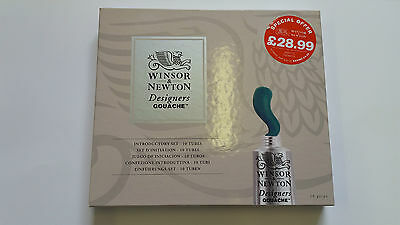 Winsor and Newton Designers Gouache Introduction Set - Fast Delivery
