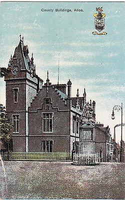 County Buildings, ALLOA, Clackmannanshire