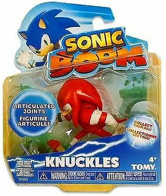 Sonic Boom 3 Inch Plastic Figure Toy - Knuckles