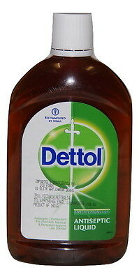 Dettol Antiseptic Liquid 500Ml , Diluted 1 X 20 Mix ,. Effective Protection