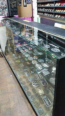 Glass Shop Counter Display Cabinets X 3