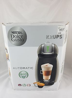 Nescafe Dolce Gusto Krups Automatic Coffee Machine Grey/Silver
