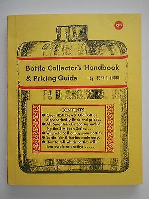 Bottle Collector's Handbook & Pricing Guide by Yount, 1969