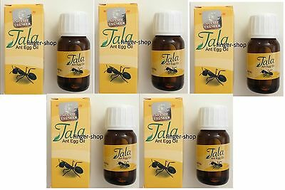 5 X Original Tala Ant Egg Oil, A Product Used In Unwanted Hair.