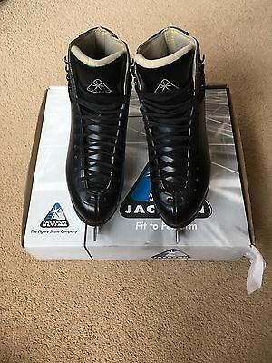Jackson Marquis 1993 Black Figure Skating Boots And Blades