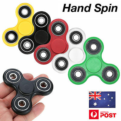 3D Fidget Hand Spinner Finger EDC Focus Stress Reliever Toys For Kids Adults AU
