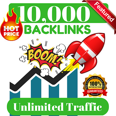 ➳ UNLIMITED traffic with 10,000 Backlinks for your website, blog or video