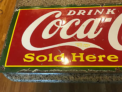 1930's Coke Sign! (Hard To Find)