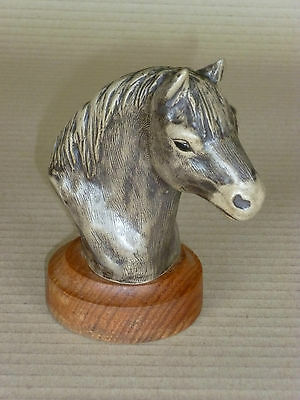 POOLE POTTERY Stoneware Exmoor PONY series Head on Stand