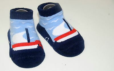 Baby Socks Soft Touch 'Future Captain' Gift Bag 0-6 months New