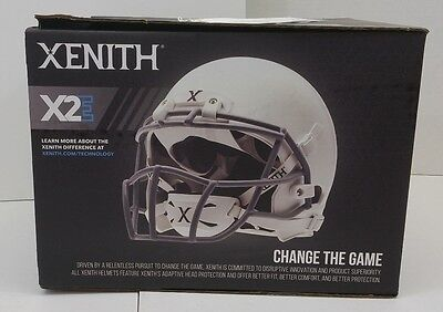 Excellent Condition Xenith X2E Youth Medium Football Helmet 2015 White