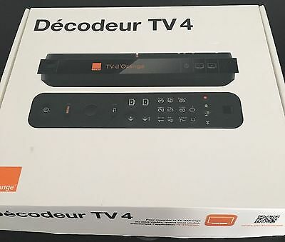 DÉCODEUR TV 4 - ORANGE - NEUF model UHD 2016 !