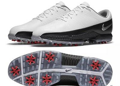 NEW Men's Size 9 NIKE Air Zoom Attack Golf Shoes 853739-101 WHITE / BLACK