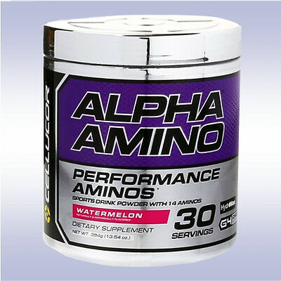 CELLUCOR ALPHA AMINO (30 SERVINGS) performance branched + essential aminos bcaa