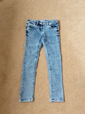 Girls Next Skinny Jeans In Light Blue Age 10