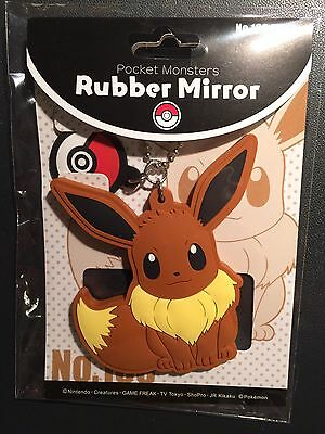 Eevee / Evoli Rubber Mirror Keyholder Pokémon Center Japan