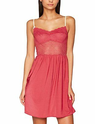 Rot M BEEDEES BEEHOT IA 11150 DRESS-BABYDOLL DONNA (CHILLI HEART 6B) 46 Nuovo