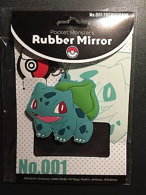 Bulbasaur / Bisasam Rubber Mirror Keyholder Pokémon Center Japan
