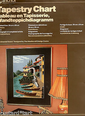 Continental Scene Anchor Tapestry Chart  38 * 28 Cms  Unused