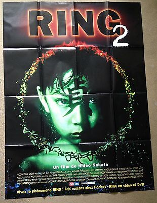 RING 2 (1999) Rare Original French Horror Movie Poster 47x62  Hideo Nakata
