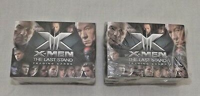 X-men The Last Stand Trading Cards New & Sealed X 2 Packs (Z.V)