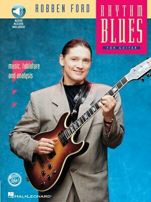 Robben Ford Rhythm Blues - REH Book Audio Pack Stylistic Method Book 000070030