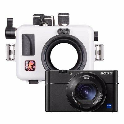 Ikelite Underwater Housing for Sony RX100 Series (Updated, White) Model 6116.15