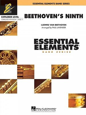 Beethoven's Ninth Essential Elements Explorer Level Book and Audio 000860516