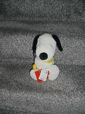 Snoopy Soft Toy With Woodstock 10'' Tall With Tag Made By Applause Great Item