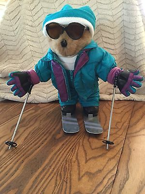 An adorable Tender Heart Treasure DOWNHILL DAREDEVIL SKIER outfit (13 pieces)