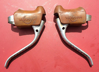 Weinmann leviers de freins velo course ancien vintage road bicycle brake levers