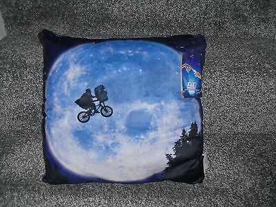 E.T Pillow Extra Terrestrial Brand New 13'' Tall With Tag Illustrated Cushion