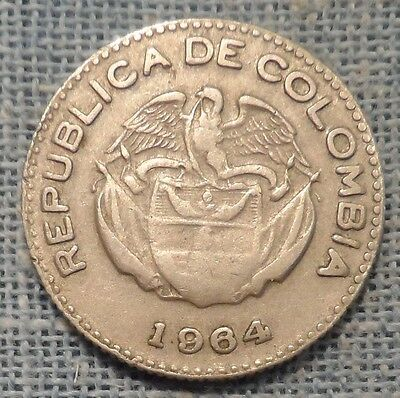 Colombia   1964   10 Centavos   KM#212.2