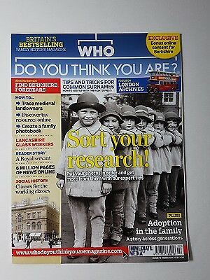 Who Do You Think You Are Magazine - Feb 2013 Issue 70 - Genealogy