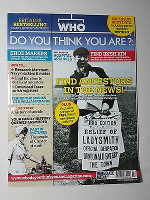 WHO DO YOU THINK YOU ARE MAGAZINE - MAr 2013 ISSUE 71 - GENEALOGY
