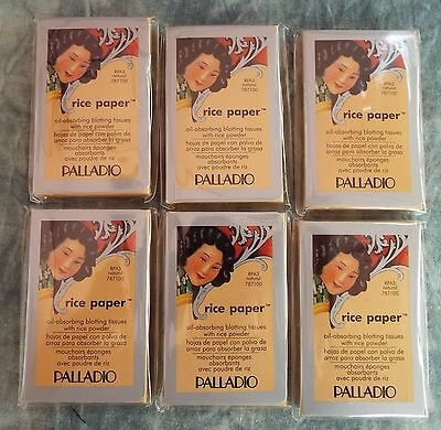 Palladio RICE PAPER OIL ABSORBING FACIAL TISSUES *NATURAL* 6-PKS