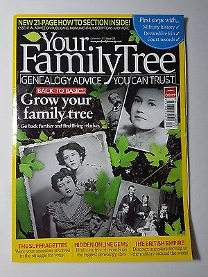 Your Family Tree Genealogy Advice - Dec 2012 Issue 123